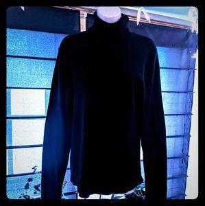 Old Navy black turtleneck sweater women's size XL